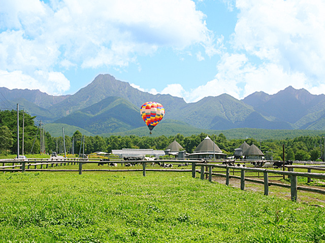 八ヶ岳原村中央農場