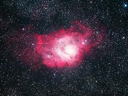 M8干潟星雲(ε-180EDで撮影)