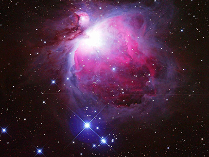 M42オリオン大星雲(ε-180EDで撮影)